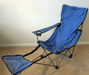 Camping chair with footrest for Sale in Washington, DC