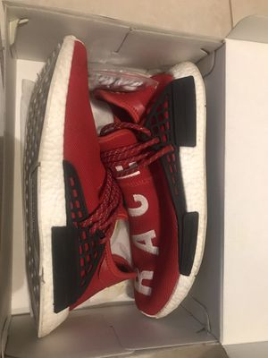 Red human races size 10.5 worn 5/6 times for Sale in Fresno, CA