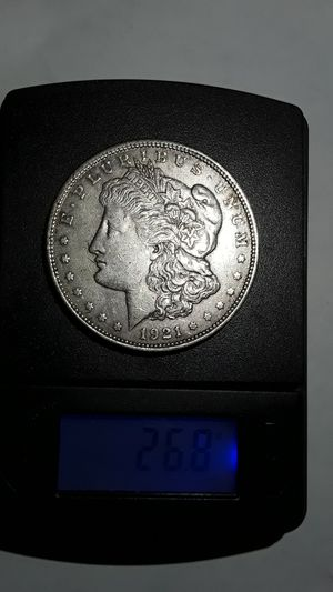 Genuine 1921 silver dollar 99 years old. for Sale in Clearwater, FL