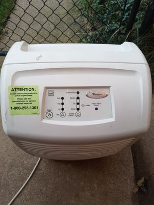 Whirlpool dehumidifier for Sale in Rochester, MI