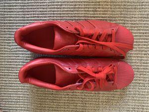 Adidas Superstar Pharrell Shell Toe m'en size 10 never worn for Sale in Pasadena, CA
