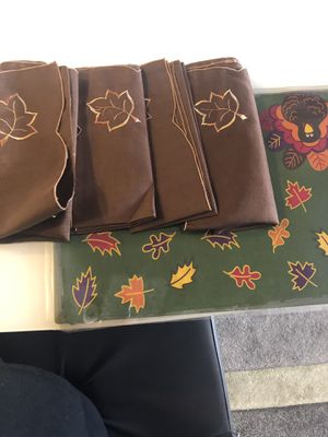 Placemats - fall for Sale in Reston, VA