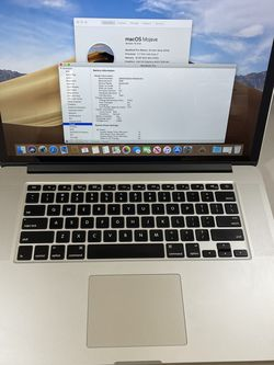 MacBook Pro 15 i7 512SSD 16GB Ram Dual GFX for Sale in Vancouver,  WA