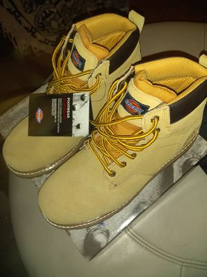 Dickies steal toe work boots size 11 brand new for Sale in Westchester, CA