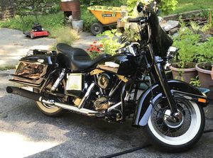 1984 Harley Davidson FLHX special edition, picture shown without tour pack tour pack now on motorcycle asking $5,500 or best offer Ken for Sale in Oxford, CT