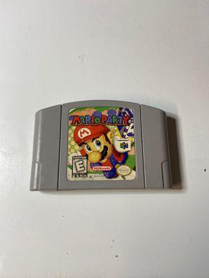 Mario Party - Nintendo 64 for Sale in Elk Grove, CA