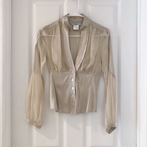 marciano beige top for Sale in Burke, VA