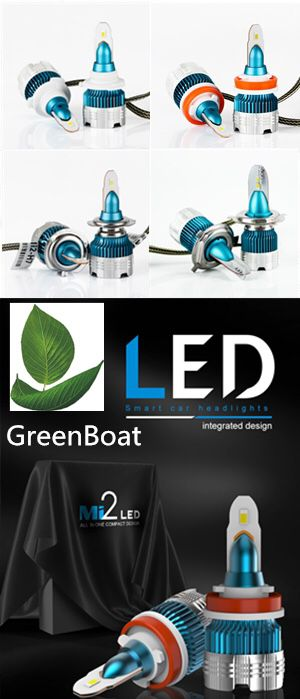 Greenboat led H11 LED Headlight Kit Low Beam Bulb Super Bright 6000K 10 days Free Return for Sale in Cerritos, CA