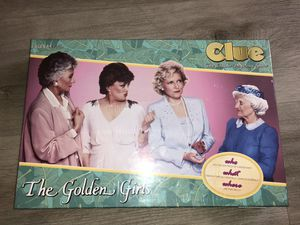 CLUE: The Golden Girls Board Game SEALED UNOPENED New for Sale in Las Vegas, NV