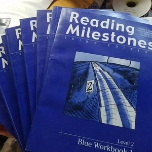 Reading milestones 8 books for Sale in Garland, TX
