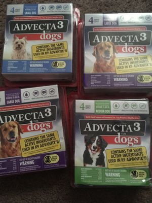 Advecta 3 flea and tick removal for Sale in Bloomington, IL