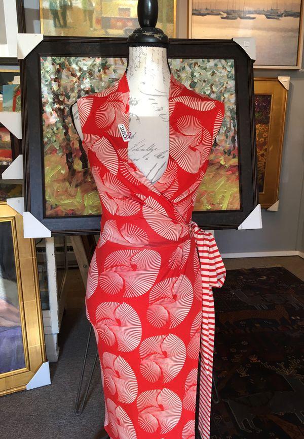 Vintage Diane von Furstenberg silk dress