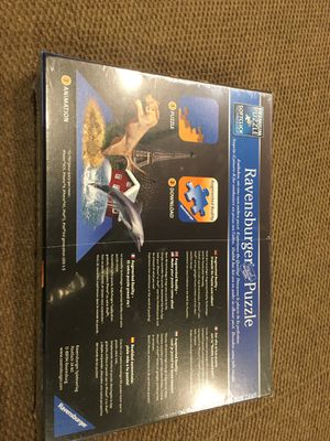 Ravens burger Thousand piece puzzle interactive quiz game for Sale in Milford, CT