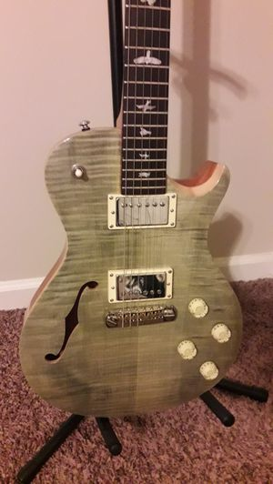 Prs Zack Myers Semi hollow. Cash only. Serious inquiries only please for Sale in Winston-Salem, NC
