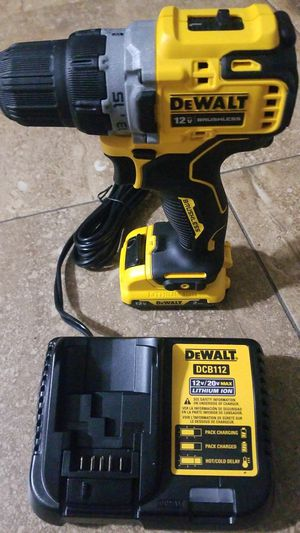 Dewalt drill 12v max brushless xtreme sub compact for Sale in Houston, TX