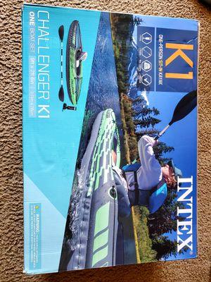 Intex Challenger K1 Kayak for Sale in Hillsboro, OR