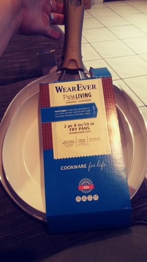 WearEver Pure Living 2 piece fry pans for Sale in Las Vegas, NV