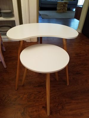 Quality Home Goods from Crate & Barrel, CB2, West Elm, etc (Desk, Breakfast Table, End Tables, Bedding, Pillows, Toasters, Kitchenware) for Sale in St. Petersburg, FL