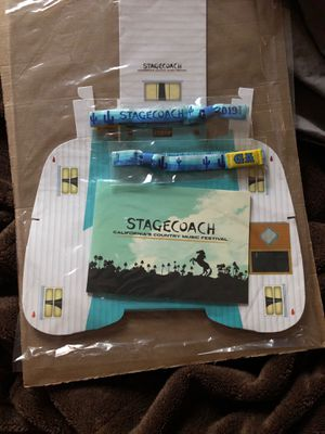 Two StageCoach GA 3-Day Passes for Sale in Poway, CA