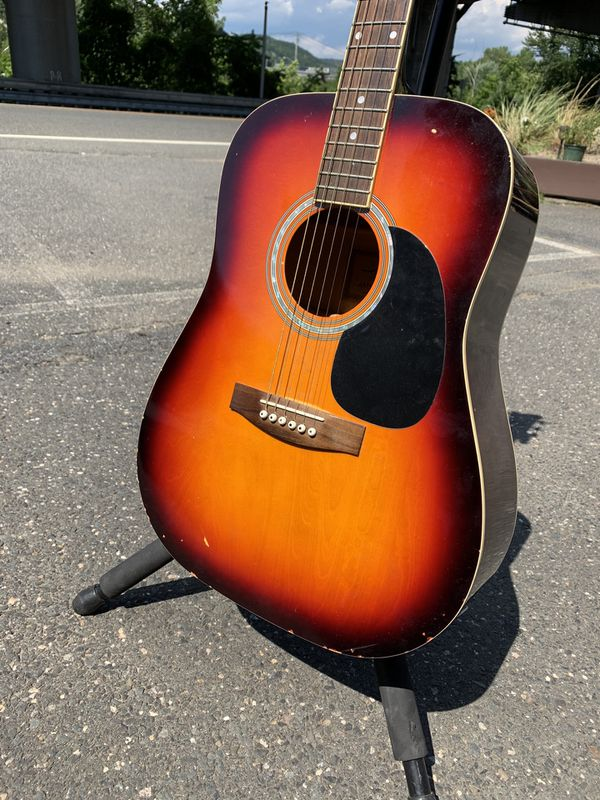 Jay Acoustic Electric Guitar