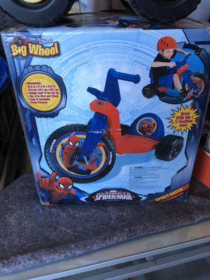 The original big wheels Marvel Ultimate Spider-Man for Sale in Fort Worth, TX