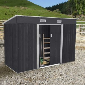 NEW Black 4x9 Tool Shed Backyard for Sale in Garden Grove, CA