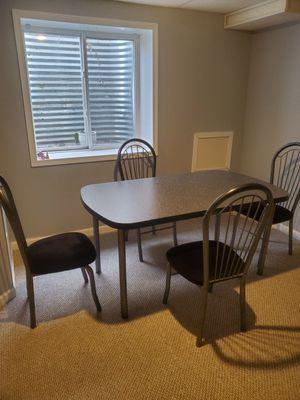 Table and 4 chairs for Sale in Aurora, IL
