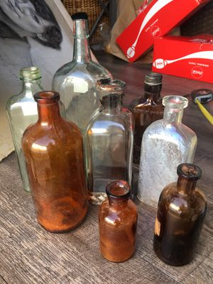 Antique bottles all for 10.00 for Sale in San Juan Capistrano, CA