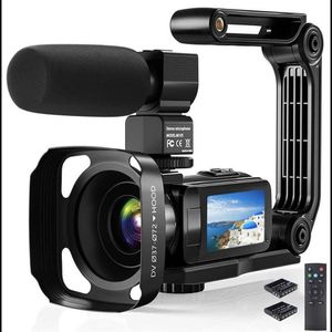 "Video Camera Camcorder, 2.7K Ultra HD YouTube Vlogging Camera, 36MP IR Night Vision Digital, 3.0"" for Sale in Lilburn, GA"