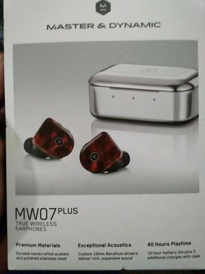 Master & Dynamic MW07 Plus True Wireless Earphones for Sale in Lubbock, TX