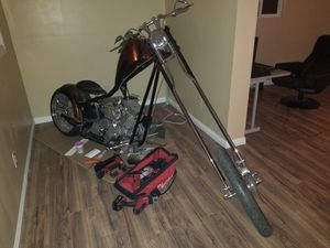 Harley chopper special contruction 2008 for Sale in South Gate, CA