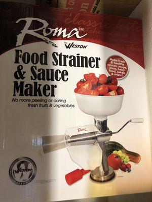 Food saucer/strainer for Sale in Gainesville, VA