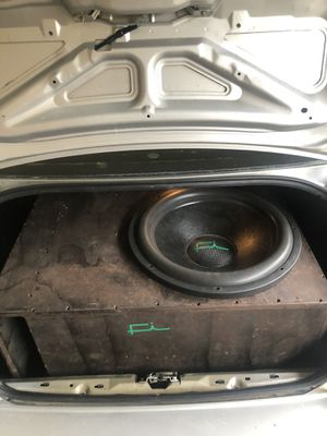 """FI Car Audio 18"""" with custom ported box for Sale in Baker, LA"""