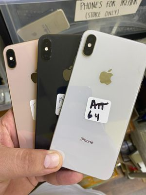 XS MAX 64GB T-MOBILE AND METRO PCS OR AT&T AND CRICKET for Sale in Garland, TX
