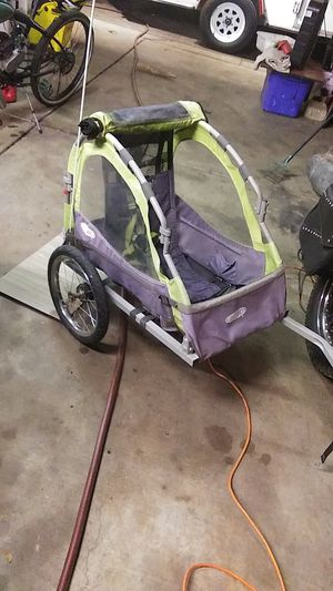 Bike trailer all parts includes with flag for Sale in Phoenix, AZ