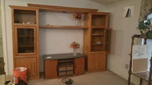 Entertainment cabinet for Sale in Las Vegas, NV