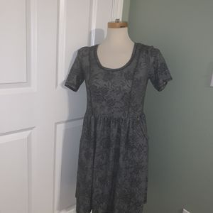 Anthropologie Saturday Sunday Heather Gray Knit Skater Dress size small for Sale in Sumner, WA