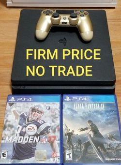 PS4 SLIM 1TB BUNDLE, FIRM PRICE, NO TRADE, EXCELLENT CONDITION, READ DESCRIPTION FOR OPTIONS for Sale in Santa Ana, CA