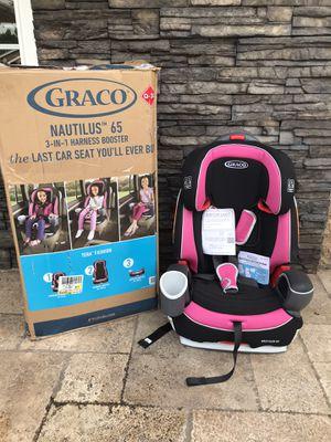 BRAND NEW WITH BOX GRACO NAUTILUS LX 3 in 1 CAR SEAT!!! for Sale in San Bernardino, CA