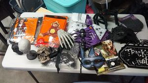 Halloween item all for 30 for Sale in Reedley, CA
