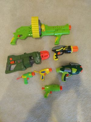 Lot of off-brand Nerf blasters for Sale in Annapolis, MD