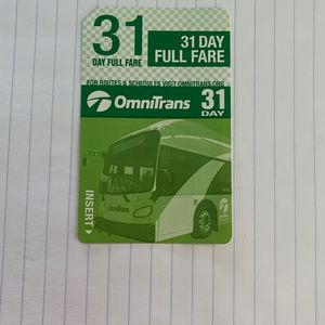 OmniTrans Bus Pass for Sale in Ontario, CA