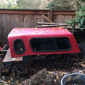 Ford Ranger Truck Canopy Red for Sale in Issaquah, WA