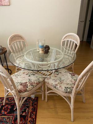 Glass dining table set for Sale in Irvine, CA