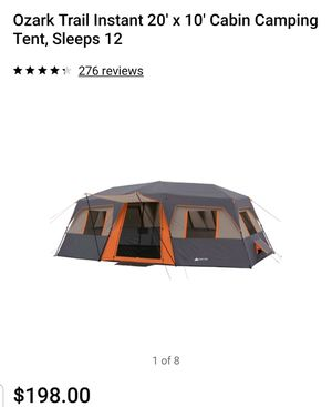 Cabin camping tent for Sale in Bayonne, NJ