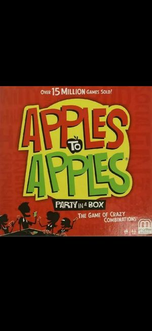 (NEW) APPLE TO APPLES Party In A Box Board Game for Sale in Silver Spring, MD