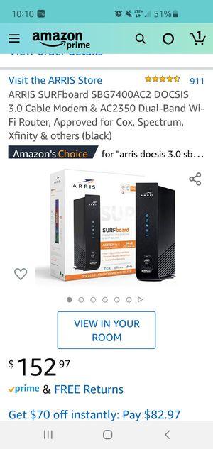 Arris modem for Sale in Goose Creek, SC