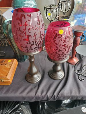 Candle holders. $8 Set. for Sale in Spring Hill, TN