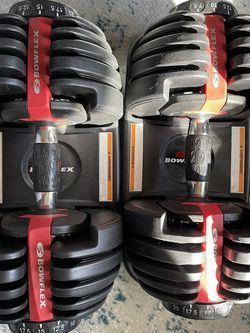 Bowflex SelectTech 552 Adjustable Dumbbells (Set Of 2) for Sale in Alameda,  CA