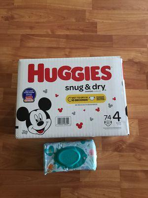 Huggies and pampers wipes for Sale in Waipahu, HI
